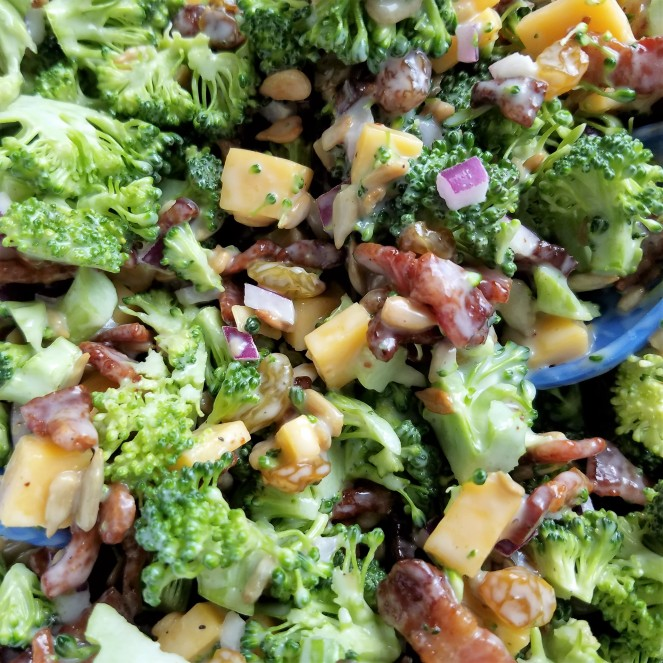 Best Broccoli Salad by Rumbly in my Tumbly