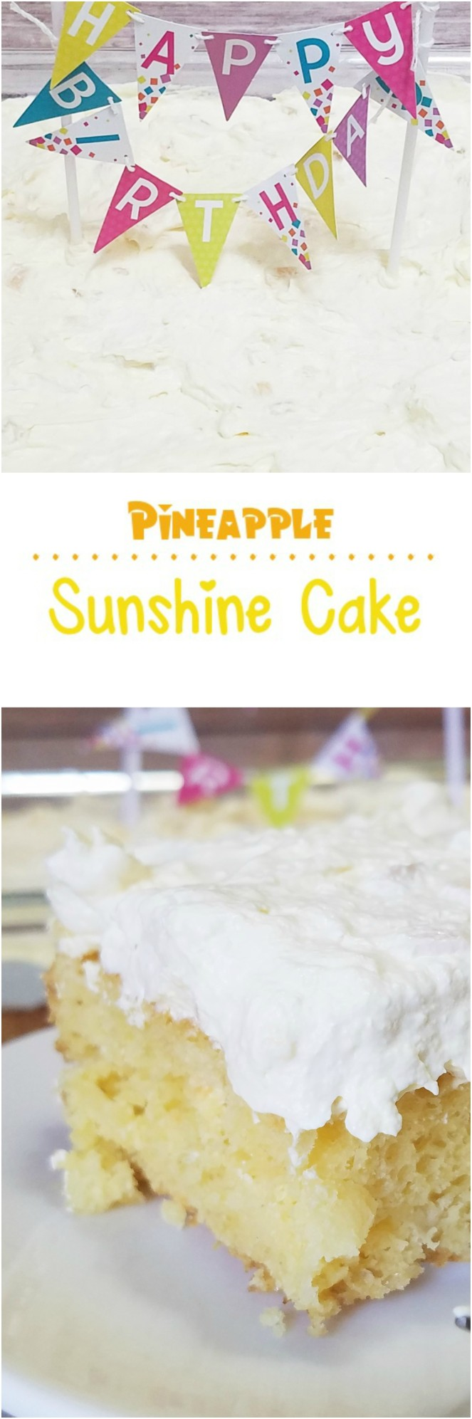 Pineapple Sunshine Cake by Rumbly in my Tumbly