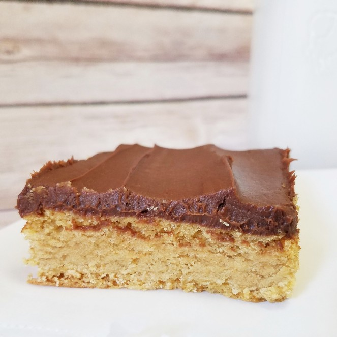Cake Mix Peanut Butter Bars