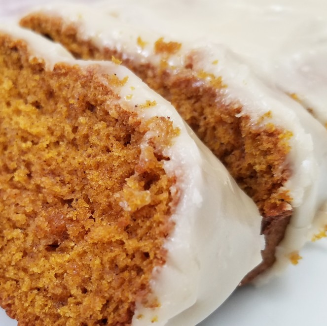 The BEST pumpkin bread with brown butter maple glaze - Rumbly in my Tumbly
