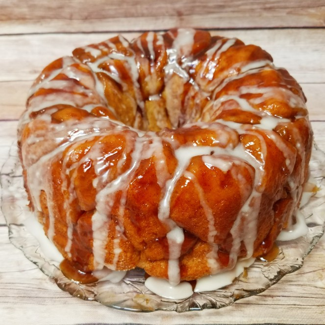 Pumpkin Caramel Monkey Bread by Rumbly in my Tumbly
