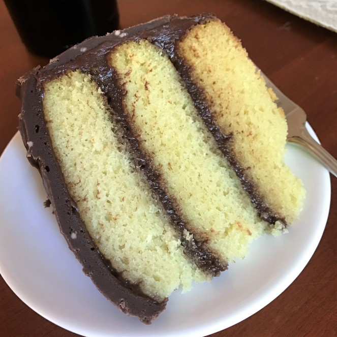 Moist Yellow Butter Cake