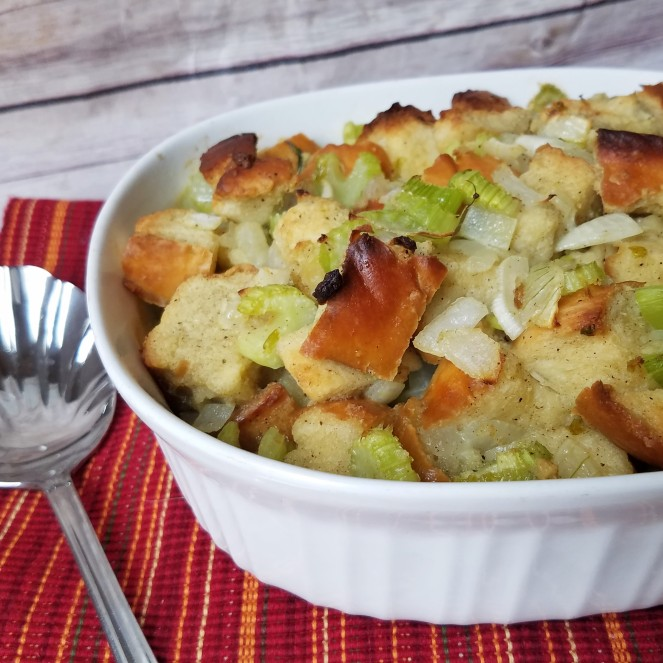 Nan's Simple and Perfect Thanksgiving Stuffing by Rumbly in my Tumbly