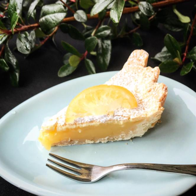 Shortbread Lemon Tart