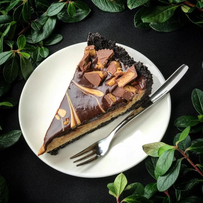 Chocolate Peanut Butter Pie by Rumbly in my Tumbly