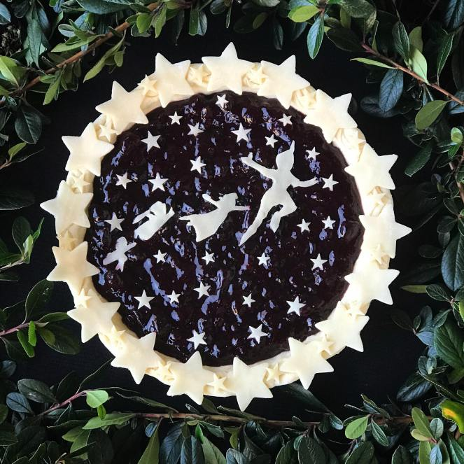 Peter Pan Blueberry Pie