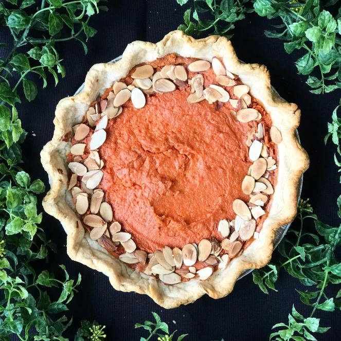 Cooking Light Carrot Chai Pie