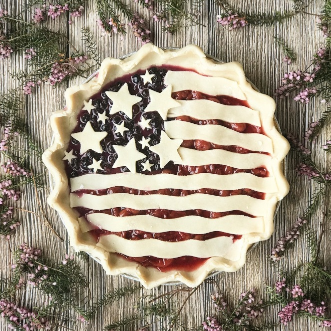 How to make an American Flag pie