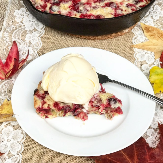 Crustless Cranberry Pie (rumbly in my tumbly)
