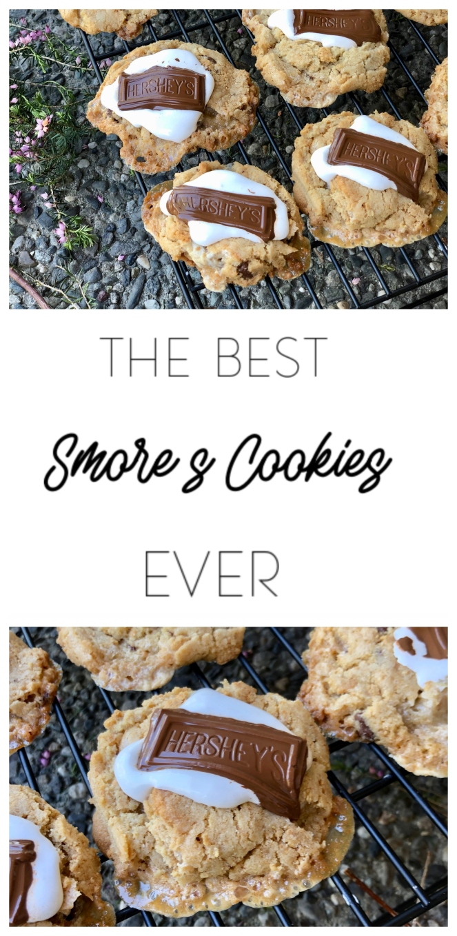 The BEST S'more Cookies EVER