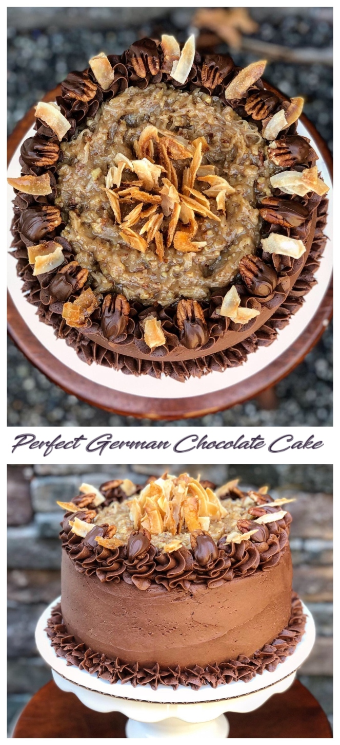 Perfect German Chocolate Cake